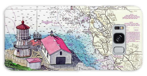 Point Reyes Light Station Galaxy Case by Mike Robles