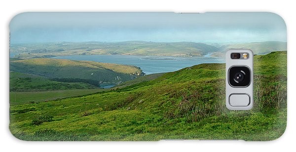 Point Reyes Overlooking Tomales Bay Galaxy Case