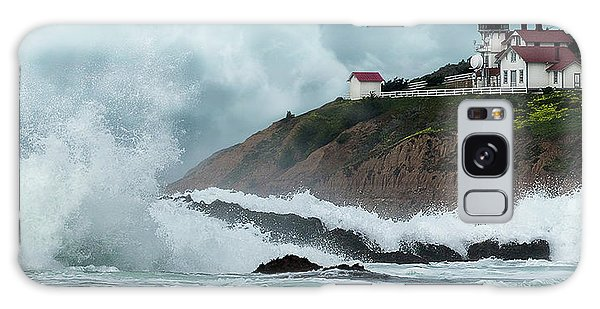 Point San Luis Lighthouse Galaxy Case