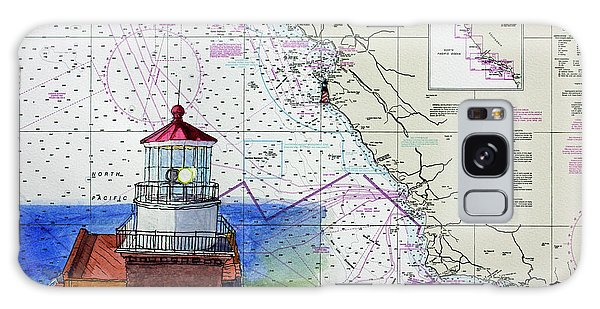 Point Sur Light Station Galaxy Case