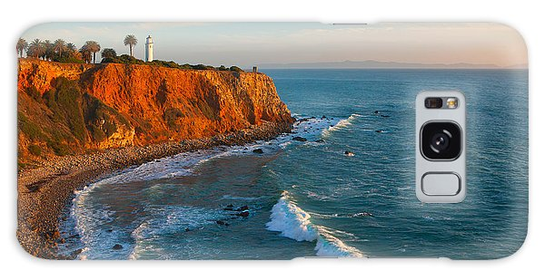 Galaxy Case featuring the photograph Point Vicente Lighthouse Palos Verdes California by Ram Vasudev
