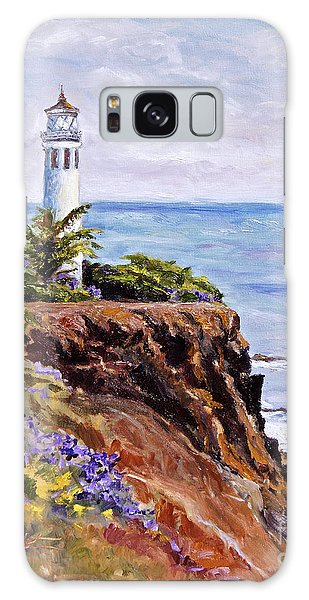 Point Vicente Palos Verdes Galaxy Case by Jennifer Beaudet