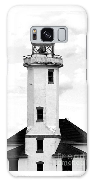 Point Wilson Lighthouse Galaxy Case