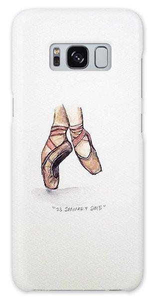Ballerina Galaxy Case - Pointe On Friday by Venie Tee