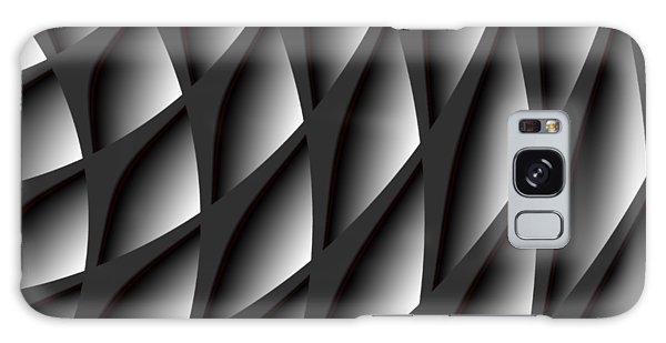 Points Abstract Colour Choice Galaxy Case by Barbara Moignard