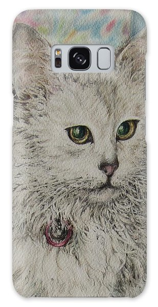 Poised Cat Galaxy Case