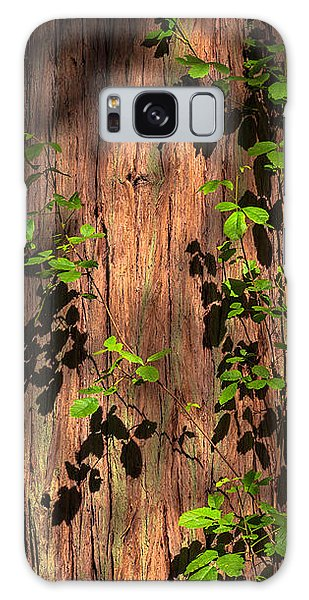 Poison-oak On Incense Cedar Galaxy Case by Alexander Kunz