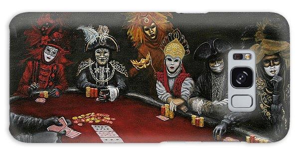 Poker Face II Galaxy Case by Jason Marsh