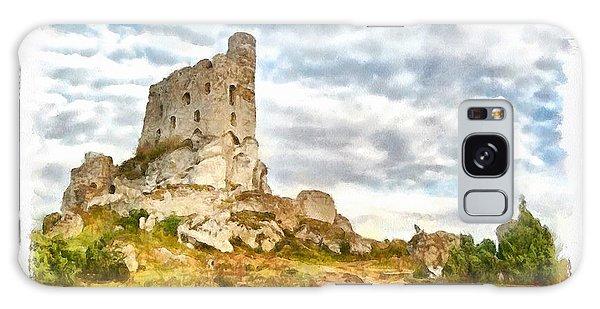 Mirow Castle Ruins In Poland Galaxy Case by Maciek Froncisz