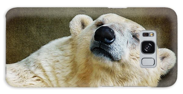 Polar Bear Galaxy Case by Angela Doelling AD DESIGN Photo and PhotoArt