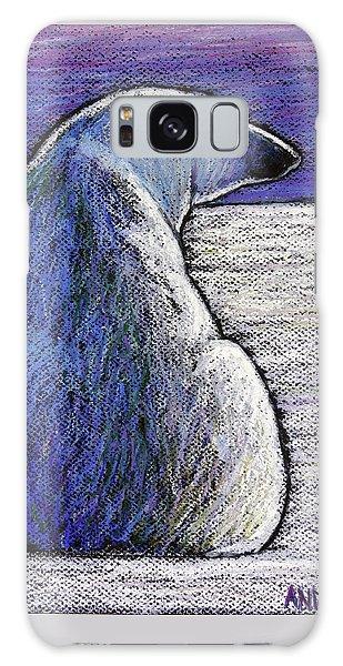 Polar Bear Galaxy S8 Case - Polar Bear Backside by Ande Hall