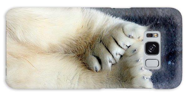 Polar Bear Paws Galaxy Case