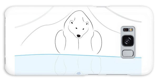 Polar Bear Reflection Galaxy Case by Greg Slocum