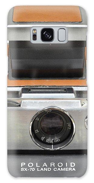 Polaroid Sx70 On White Galaxy Case