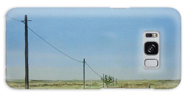 Poles Apart Galaxy Case