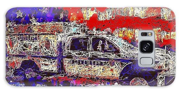 Police Truck Galaxy Case