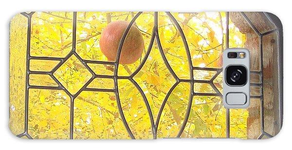 Pomegranate Peek A Boo Galaxy Case by Laurie Morgan