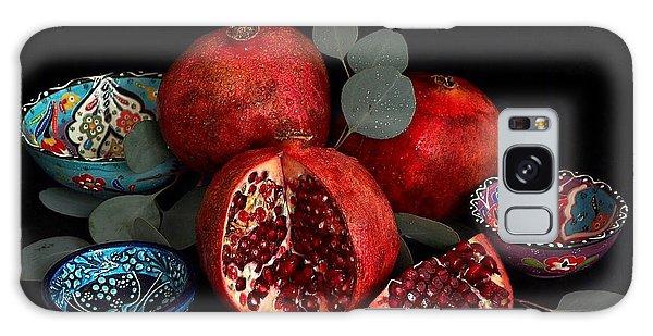 Pomegranate Power Galaxy Case