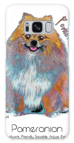 Pomeranian Pop Art Galaxy Case