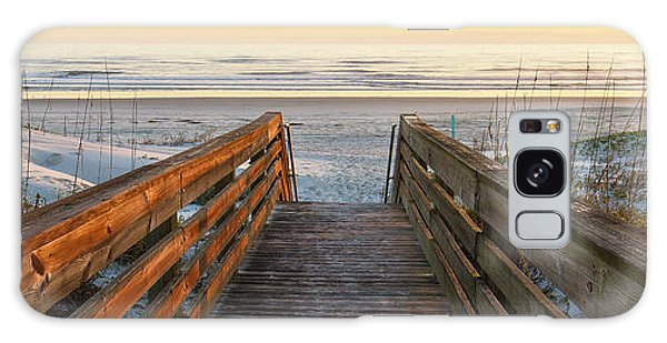 Ponce De Leon Inlet Beach Path Galaxy Case