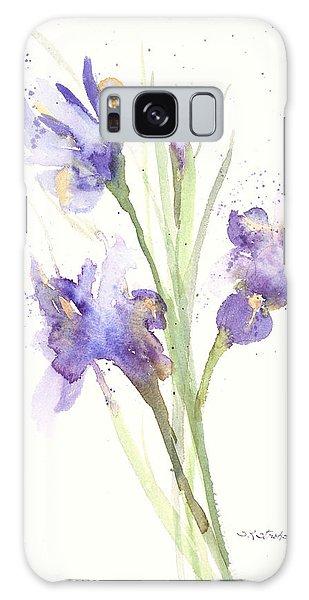 Pond Iris Galaxy Case by Sandra Strohschein