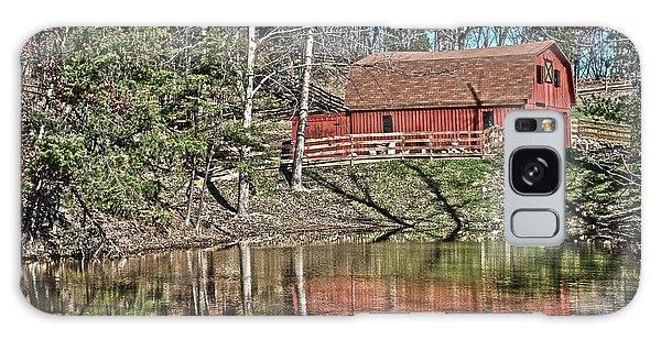 Pond Overlook Galaxy Case by Greg Jackson