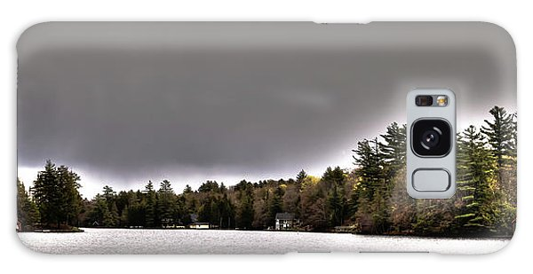 Pond Panorama Galaxy Case by David Patterson