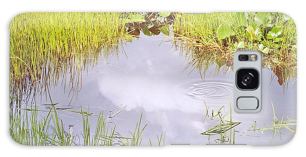 Pond Ripples Photo Galaxy Case