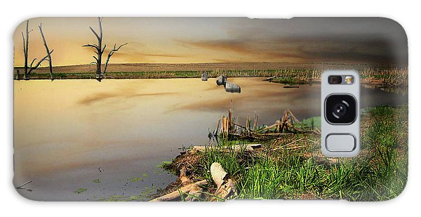 Pond Shore Galaxy Case