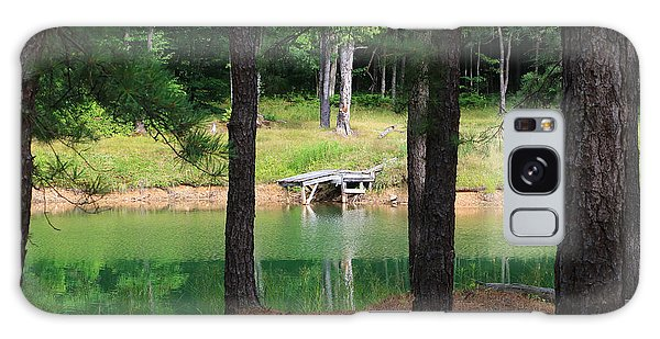 Pond Side Dock Galaxy Case
