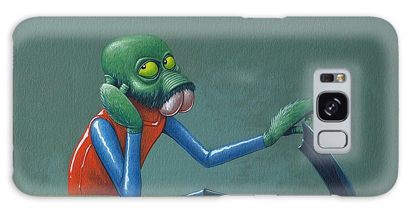 Outer Space Galaxy Case - Ponda Baba by Jasper Oostland