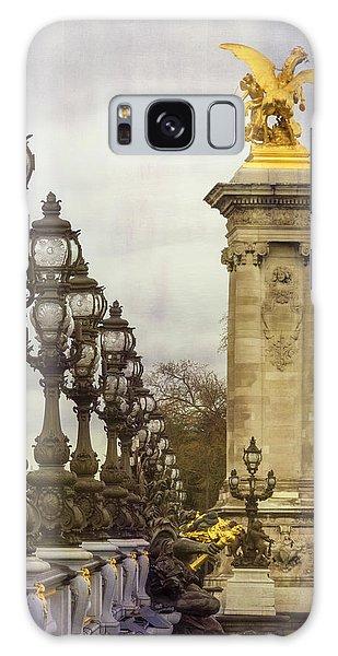 Handrail Galaxy Case - Pont Alexandre IIi Paris by Joan Carroll