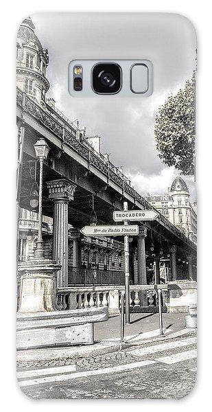 Pont De Bir-hakeim, Paris, France Galaxy Case