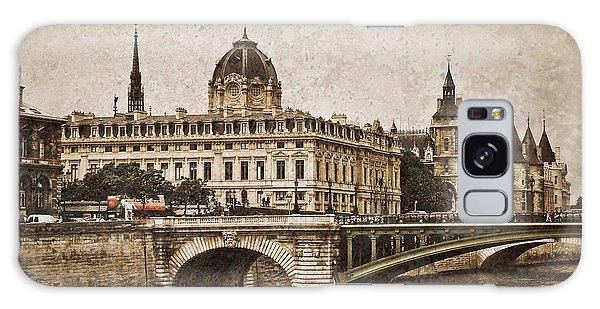 Paris, France - Pont Notre Dame Oldstyle Galaxy Case