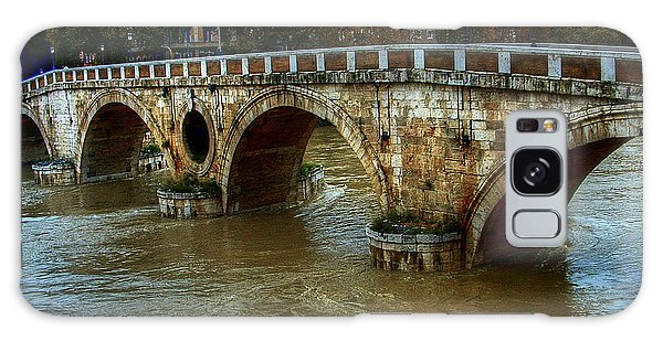 Ponte Sisto Bridge Rome Galaxy Case
