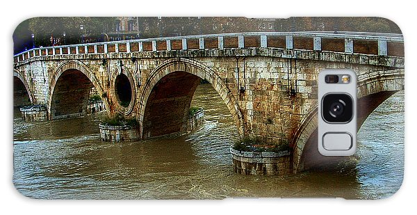 Ponte Sisto Bridge Rome Galaxy Case