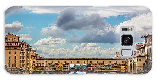 Ponte Vecchio Clouds Galaxy Case
