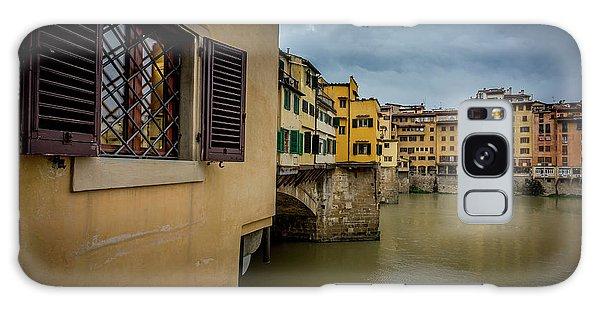 Ponte Vecchio Galaxy Case by Sonny Marcyan