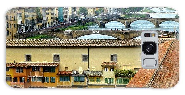 Ponte Veccio And Beyond Galaxy Case by Amelia Racca