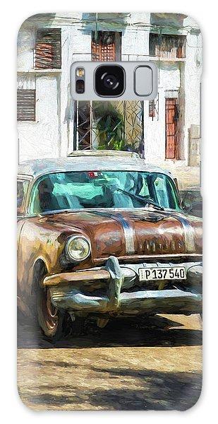 Galaxy Case featuring the photograph Pontiac Havana by Lou Novick