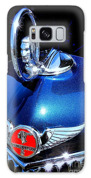 Indian Head Galaxy Case - Pontiac Indianhead Hood Ornament  by Olivier Le Queinec