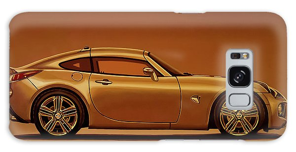 Motor Galaxy Case - Pontiac Solstice Coupe 2009 Painting by Paul Meijering