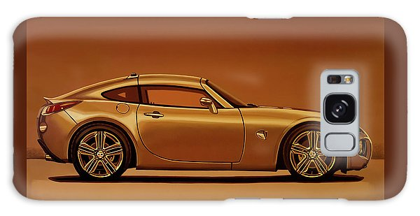 Coupe Galaxy Case - Pontiac Solstice Coupe 2009 Painting by Paul Meijering