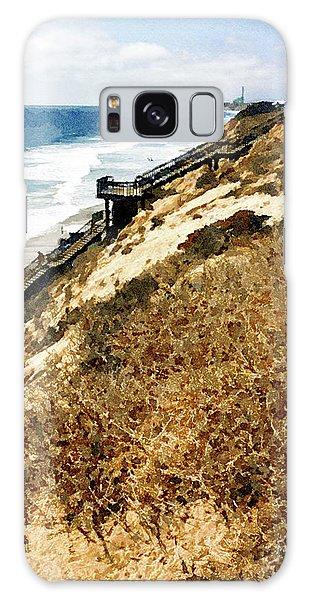 Ponto Beach, Carlsbad Galaxy Case