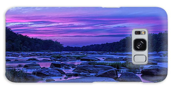 Pony Pasture Sunset Galaxy Case