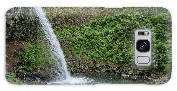 Ponytail Falls Galaxy Case by Greg Nyquist