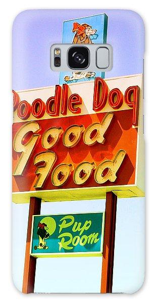 Poodle Dog Diner Galaxy Case