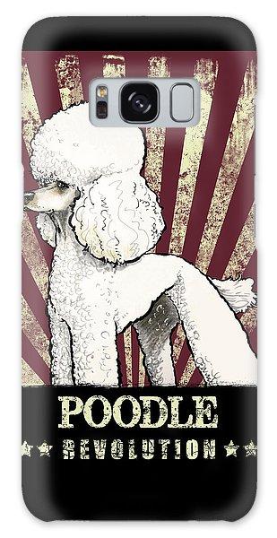 Poodle Revolution Galaxy Case