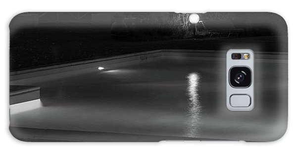 Pool At Night 2 Galaxy Case