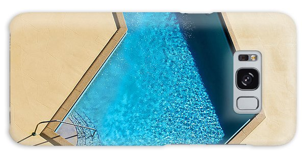 Picnic Table Galaxy Case - Pool Modern by Laura Fasulo